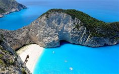 Remote beach in Greece... Why wouldn't you want to be there? :-)