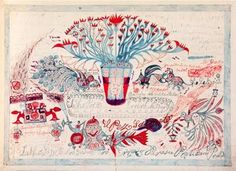 Pedro Alonso Ruiz es un paciente del manicomio de Toledo que realiza dibujos orientalizantes entre los años 1916 y 1941.   No tenía más formación que la de su oficio de herrero pero mostraba aptitudes musicales y artísticas increíbles.