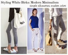How To Style White Birkenstocks: Modern #bloggerstyle
