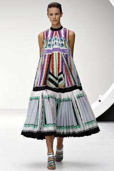 Mary Katrantzou Fall, digital print dress, digital textile designs, digital fashion dresses (11) - Digital TextileS