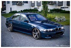 BMW E39 M5 Blue