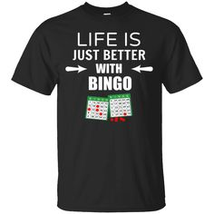 Hi everybody!   Life is Just Better With BINGO T-Shirt   https://zzztee.com/product/life-is-just-better-with-bingo-t-shirt/  #LifeisJustBetterWithBINGOTShirt  #LifeShirt #isBINGO #JustBetterBINGOShirt #Better #With #BINGO #TShirt