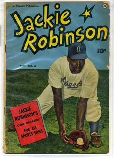 Dodgers Blue Heaven: Scans of the 1950 Jackie Robinson Comic Comic Book Plus, Comic Books, Dodgers Jerseys, Dodger Blue, Jackie Robinson, Book Categories, Books Online, Nonfiction, New Books