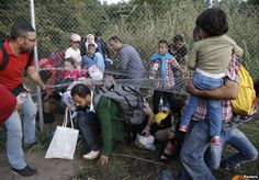 September 14, 2015 12:59 PM CENTRAL HUNGARY—Refugees and governments are suddenly in a rush to get the wave of people landing in Greece from the Middle East and Africa to their destinations, with Germany topping the list.
