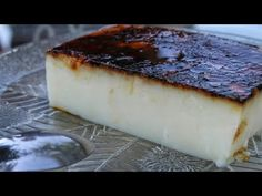 Creamy cake in a pan: beautiful and so yummy Greek Sweets, Greek Desserts, Greek Recipes, Jam Tarts, Custard Cake, Happy Foods, Mediterranean Recipes, Food To Make, Cupcake Cakes