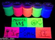 UV Glow Neon Chalkboard Paint Chalk board Paint 250ml Uv Glow Paint Rave Paint