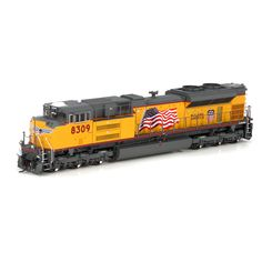 HO SD70ACe, UP/Red Sill Stripe #8309 (ATHG68559): Athearn Trains