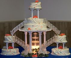 Wedding Cakes With Fountains And Bridges - Birthday Cake : Cake ...