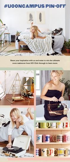 Win The Ultimate UO Room Makeover Click Through To Learn How Enter