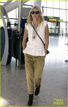 Gwenyth, I don't really like you, but that's a very good airport outfit.