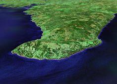 3D digital model of Cape George, Antigonish County - Nova Scotia