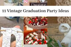 12 Graduation Party Centerpieces Perfect For Your Graduation Party Theme - Cassidy Lucille Vintage Graduation Party, Graduation Party Desserts, Outdoor Graduation Parties, Graduation Party Games, Graduation Party Centerpieces, Grad Parties, Graduation Ideas, Graduation Decorations, Graduation Cards