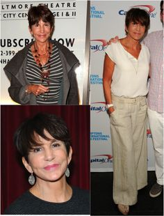 Mercedes Ruehl  The Best Short Haircuts for Women Over 50: A Cool Cut on a Really Cool Woman