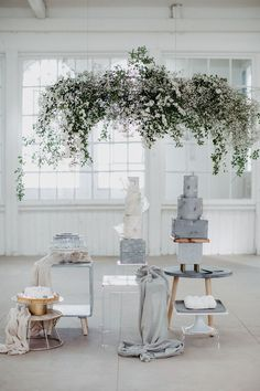 Pure Products, Table Decorations, Elegant, Industrial, Inspiration, Trends, Furniture, Home Decor, Extravagant Wedding Cakes
