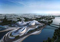 Zaha Hadid Art Center China