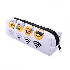 Katoot@ Cute White emoji pencil bags for school Kawaii Wi... https://www.amazon.com/dp/B01MXMIXMB/ref=cm_sw_r_pi_dp_x_GYEMyb0VYPGHY