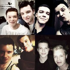 Through the seasons with Mickey and Ian :))) - Tumblr