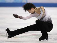 DAY 8:  Yuzuru Hanyu of Japan competes during the Figure Skating Men's Free Skate http://sports.yahoo.com/olympics