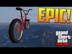 SUPER MEGA SALTO EXPLOSIVO!! - Gameplay GTA 5 Online Funny Moments (Carrera GTA V PS4) - YouTube