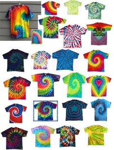tie dye ideas @Tish Chambers Dwyer  This is happening the next time I'm home haha