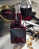 Elderberry liqueur