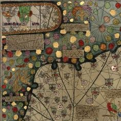 """Cresque's Catalan Atlas, 1387. """"Famed 14th-Century Jewish cartographer Abraham Cresques produced no other maps that we can trace, conclusively, to his hand; but who needs any other work when you are the author of the amazing Catalan Atlas -- the most famous work of what was much later to be called the Majorcan Style of mapmaking. The Palma, Majorca native not only made some of the most beautiful maps of his day, but also was a watchmaker and maker of seafaring instruments."""" Click thru for…"""