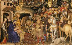 Gentile da fabriano, adorazione dei magi - Gotico internazionale in Italia - Wikipedia