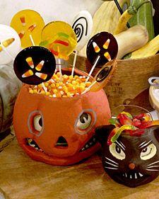 Halloween Lollipops - Martha Stewart Recipes