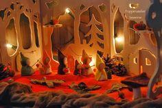 Poppenatelier Severine: Onze jaartafel...Sint Maarten/Our seasonal table...Martinmas