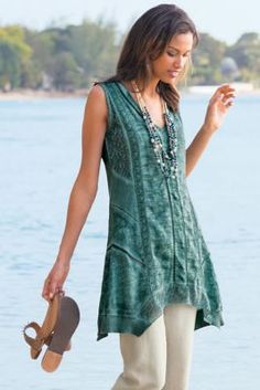 Ocean Fade Tunic from Soft Surroundings