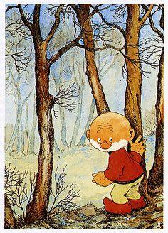 Paulus de Boskabouter, Jean Dulieu Wandelen in het bos