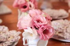 Vasinhos com flores naturais