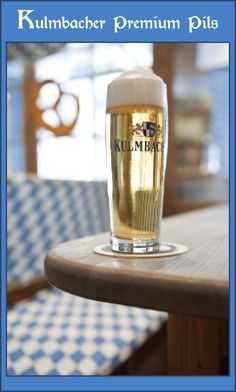 Kulmbacher Premium Pils, a French kiss. #pinteofbeers