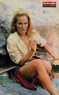 Honey Ryder, John Derek, Katharine Ross, Ursula Andress, Cinema, Ann Margret, Thing 1, Western Movies, Photo Series