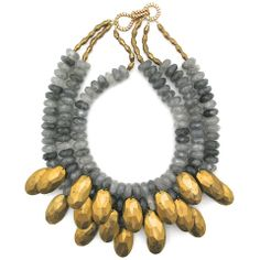 Many Facets to Her necklace by Elva Fields