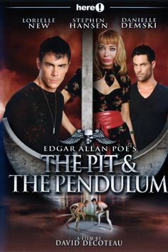Edgar Allan Poe& The Pit And The Pendulum Entertainment Newest Horror Movies, Horror Films, Edgar Allan Poe, Terror Movies, Vampire Boy, Gay, Vincent Price, Film School, Movie Releases