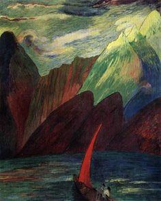 Marianne von Werefkin, (Russian-Swiss, 1860-1938)