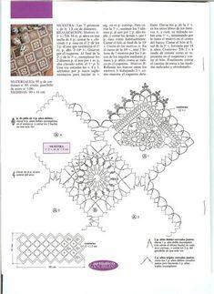 Crochet Knitting Handicraft: Table napkin3