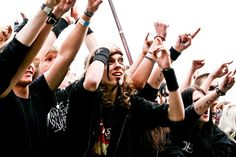 Tuska heavy metal festival in #Helsinki by Visit Finland, via Flickr