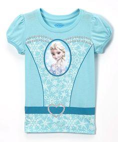 Loving this Cancun Elsa Dress Tee - Toddler & Girls on #zulily! #zulilyfinds