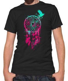 Men's DreamCatcher and Bird T-Shirt