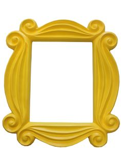 Friends Yellow Peephole Picture Frame Door TV Monica Hanging F-R-I-E-N-D-S