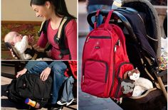 Okkatots Travel Bag and Front Carrier 50% off on #babysteals