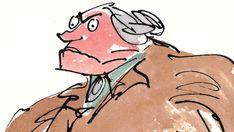 Miss Trunchbull - Roald Dahl Roald Dahl Stories, Roald Dahl Day, Roald Dahl Books, World Book Day Outfits, World Book Day Costumes, Mrs Trunchbull, Roald Dahl Characters, Matilda Costume, Children's Book Illustration