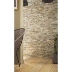 Plaquette de parement Magrit en pierre naturelle LITHOS, beige