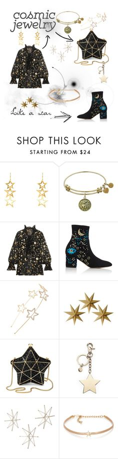"""""""Shine bright"""" by kjmsfashion ❤ liked on Polyvore featuring Latelita, Roberto Cavalli, Valentino, Cara, LumaBase, Aspinal of London, Uttermost and Kenneth Jay Lane"""
