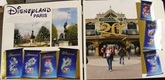 There were so many fun anniversary banners lining the entrance to the parks, I had to find a way to include them.