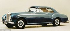 Smooth: A 1954 Bentley R Type Continental, worth an estimated £450,000, will also go under the hammer