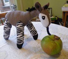 Sock Okapi - one of a kind customer order