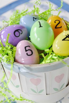 Easter Egg Scriptures - great way to remember the meaning of Easter!